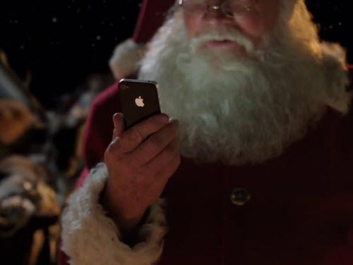 Apple's Santa Siri ad