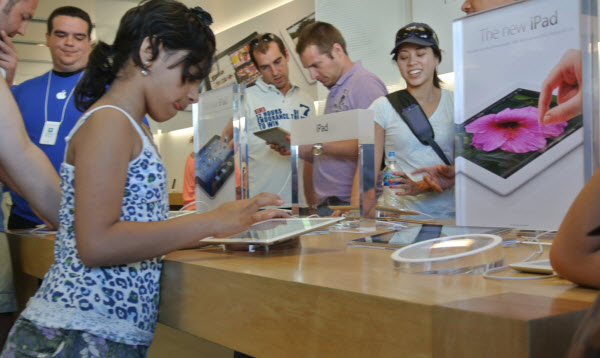 فروشگاه اپل,ipad