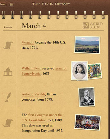 اپلیکیشن Today In History Lite