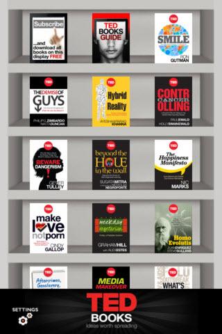 کتاب های TED ,اپلیکیشن TED