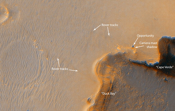 مریخ نورد, فرصت , مریخ