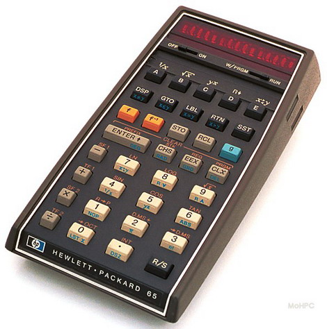 HP-65,ماشین حساب