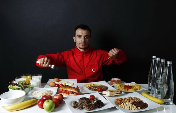 ورزشکار ترکیه ای