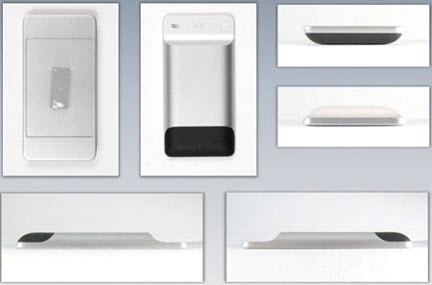 طرح های اولیه iphone  که شبیه به iphone فعلی نیست