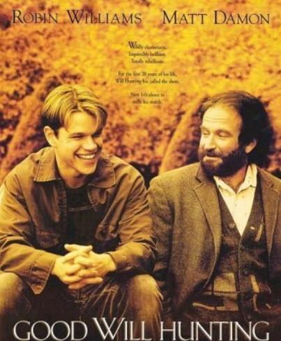 تصویری از بخشی از فیلم ویل هانتینگ نابغه که در سال 1997 ساخته شد