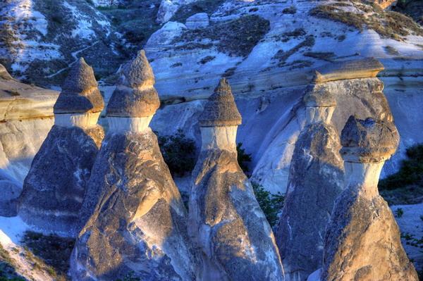 دودکشهای Cappadocia