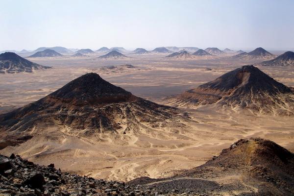 صحرای سیاه, مصر