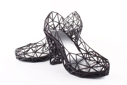 طراحی سه بعدی, کفش