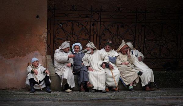 پیرمردهای مراکشی, پیرمرد