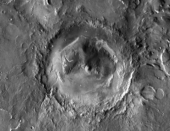 دهانه گیل ,مریخ نورد ,