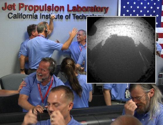 کارکنان ناسا , مریخ نورد کنجکاوی