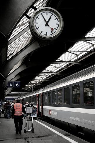 ساعت آیفون،خطوط  فدرال راهآهن سوئیس