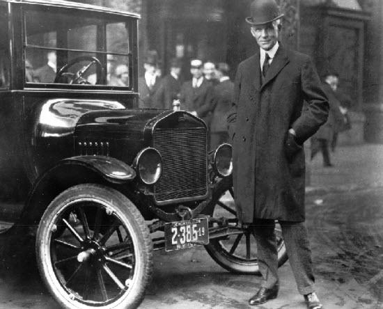 Henry Ford - افراد  مشهور و موفق دنیا -
