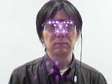 عینک ضد تشخیص چهره