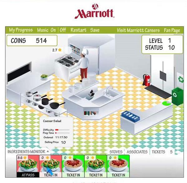 بازی My Marriott Hotel