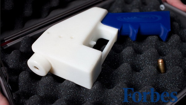 World's First Entirely 3D Printed Gun