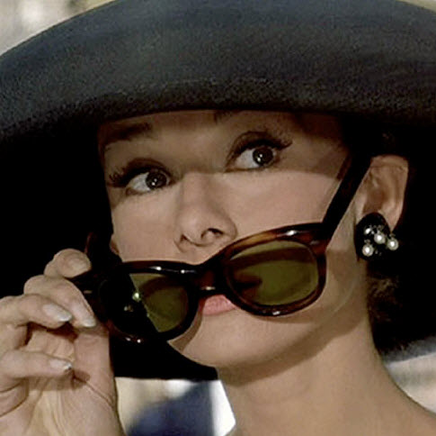 Audrey Hepburn glasses
