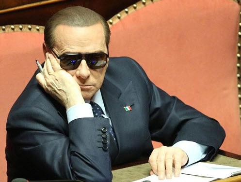 Silvio Berlusconi glasses