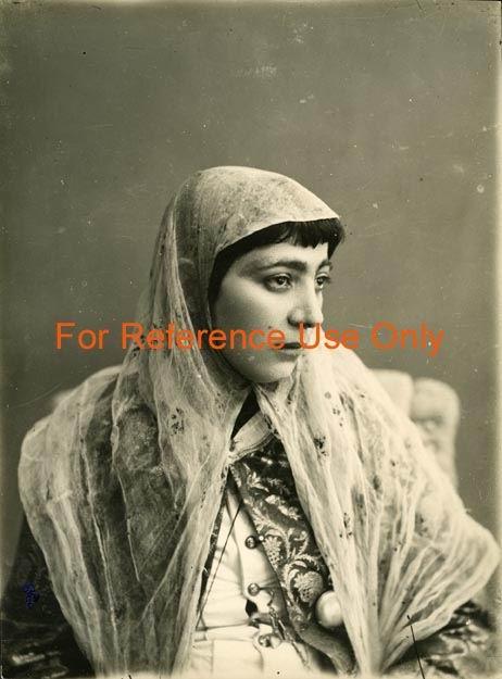 Iranian woman, [1870s - 1928]