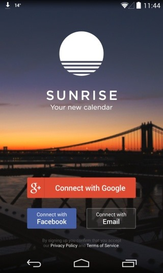 Sunrise-Calendar_Connect