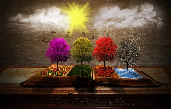 seasons-book-trees-sun-clouds
