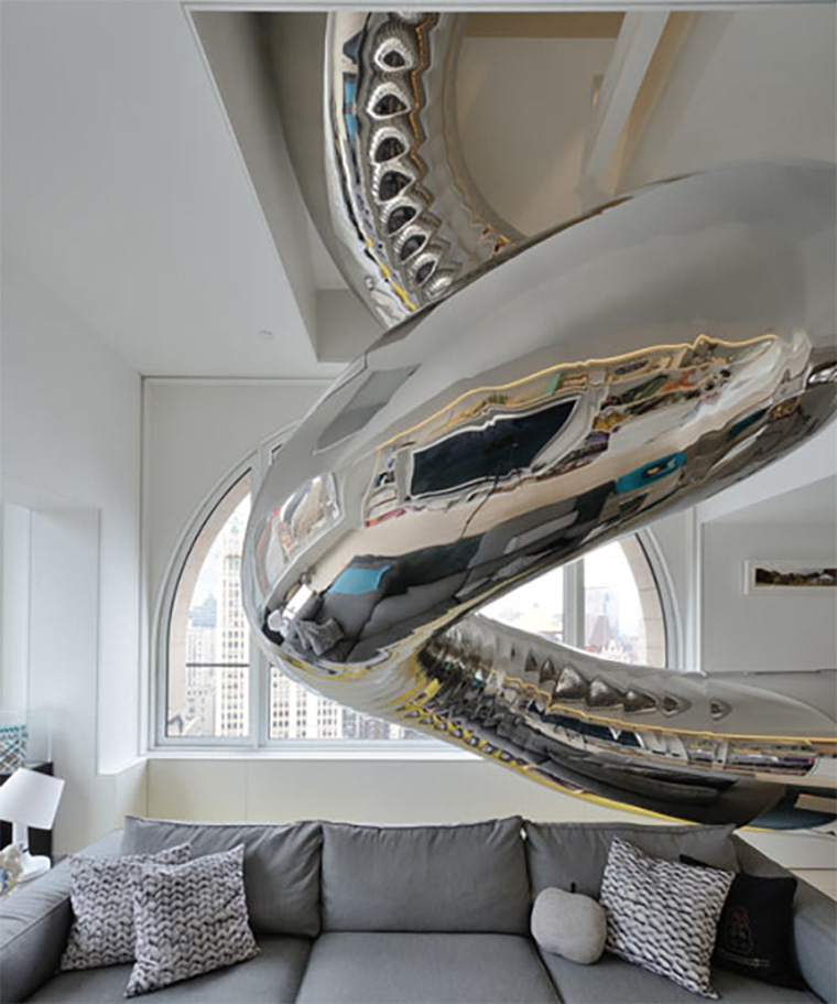Indoor-Stainless-Steel-slide