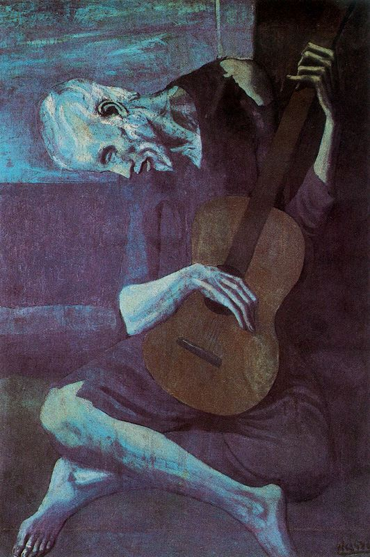 The-Old-Guitarist-Pablo-Picasso-1903
