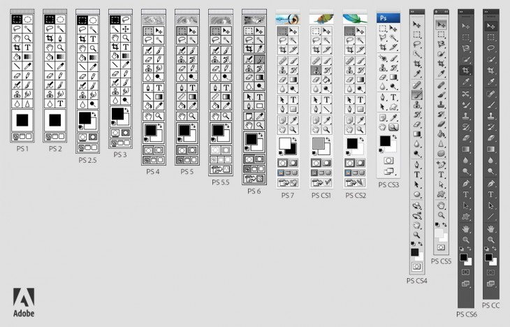 Photoshop-Toolbars-Through-the-Years_Version-B-730x468