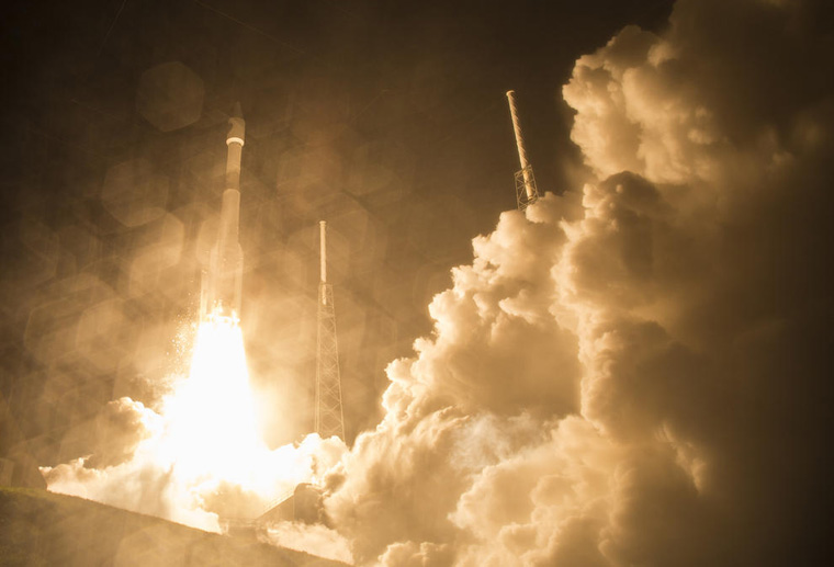 NASA Launches Atlas V MMS Rocket