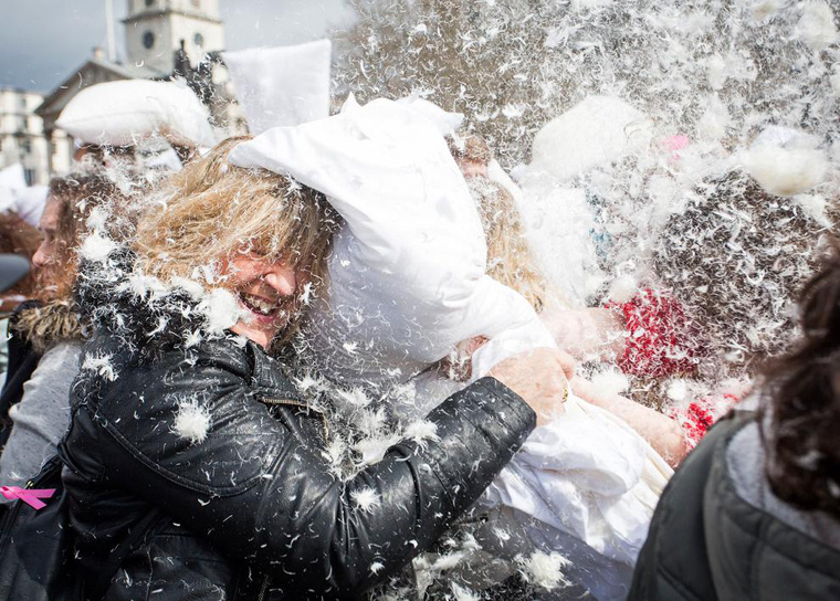 Pillow Fight Day 2015 - London