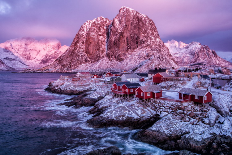 The Glow of an Arctic Dawn at Noon