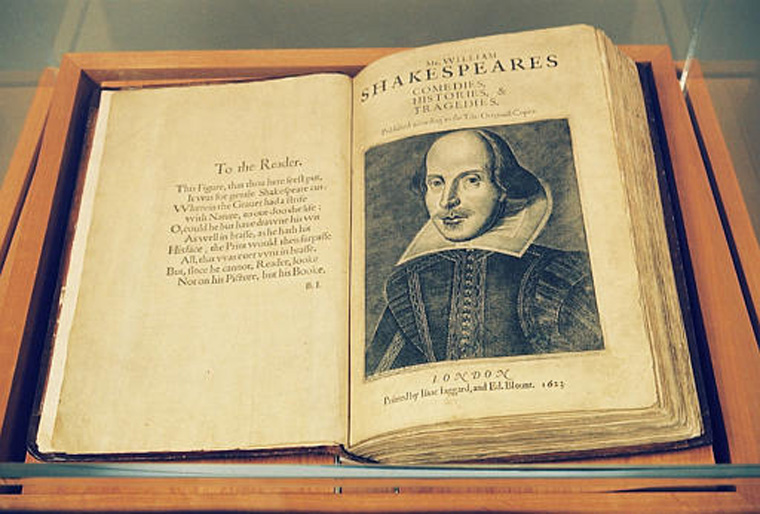 First-Folio-William-Shakespeare