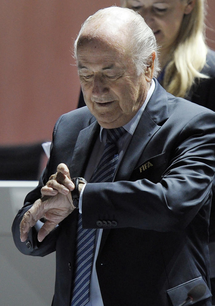 Time Running Out As Embattled FIFA Votes On Presidency