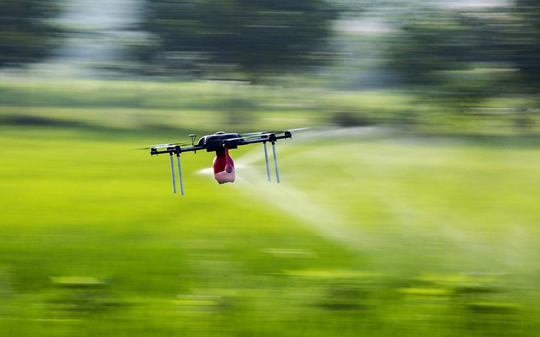 Drones Used for Farming in China