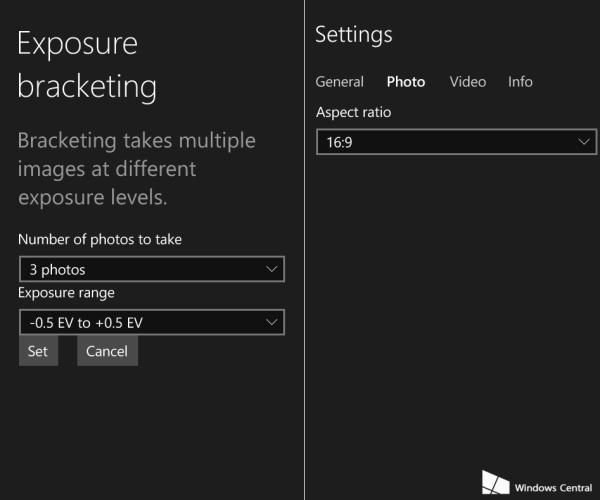 Windows-Camera-in-Windows-10-build10051-settings