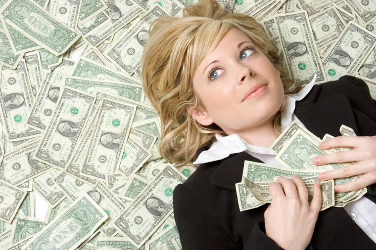 bigstockphoto_In_The_Money_2713420